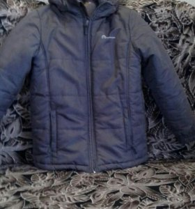 Куртка теплая на мальчика (рост 140)