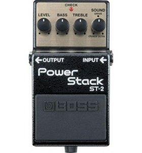 BOSS ST-2 педаль гитарная Power Stack