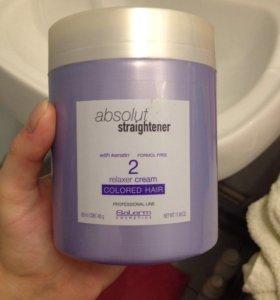 Салерм для выпрямления волос