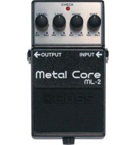 BOSS ML-2 педаль гитарная Metal Core