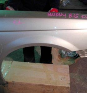 Крыло переднее правое Nissan Sunny B15