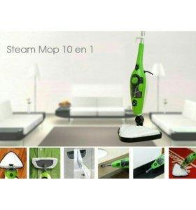 Паровая швабра Steam Mop X10 10 в 1.