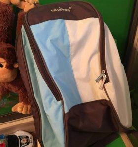Рюкзак для мамы и малыша aardman
