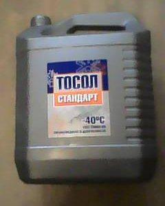 Жидкость охлаждающая тосол А-40М стандарт 10кг