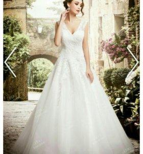 """""""To be bride"""" свадебное платье на шнуровке сзади"""