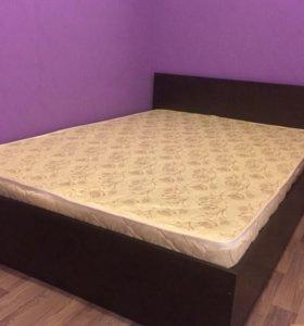 кровать Марс 140*200 с матрасом