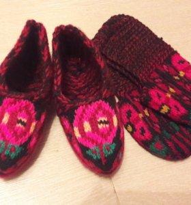 Новые шерстяные носочки