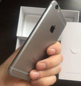 Айфон 6, 64 гигов, без отпечатка Touch id
