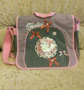 сумка школьная, почти новая