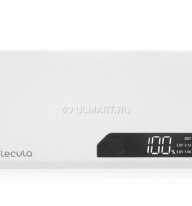 Внешний аккумулятор Molecula PB-10-03, 10000 мАч
