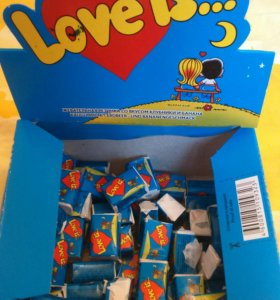 Жевательная резинка Love is... 😍