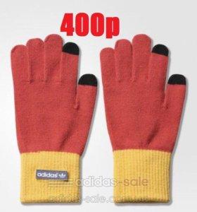 Перчатки Адидас для сенсорных экранов ориг