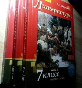 Учебники по литературе 6-7 классы