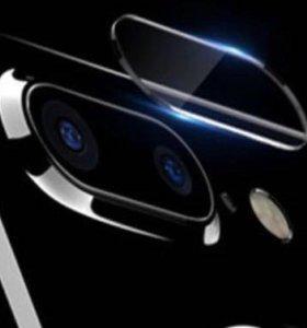 Стекло защитное камеры iPhone 7 Plus