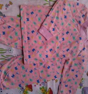 Новые пижамы для девочек.