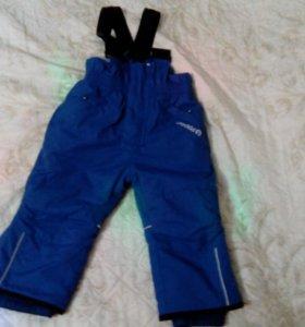 Зимние брюки Crockid 80-86 размер