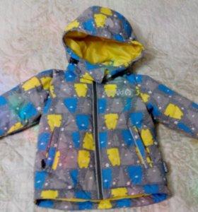 Зимняя куртка Crockid (пух) 80-86 размер