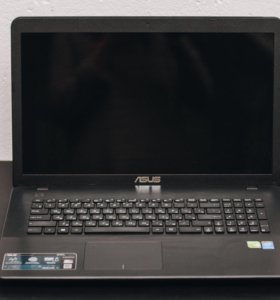 Мощный ноутбук asus x750L с большим дисплеем