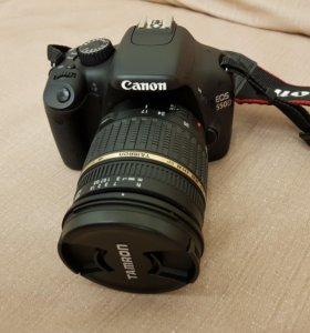 Зеркальный фотоаппарат canon 550 d