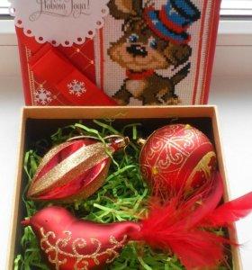 Подарочная коробочка на Новый год.