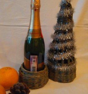 Ёлка для шампанского