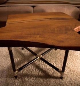 Кофейный столик из карагача