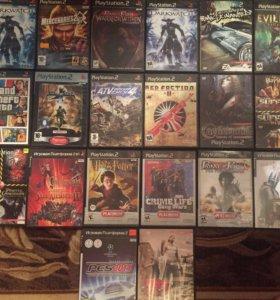 Диски на PlayStation2