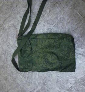 Военная плащ-накидка офицерская, с чехлом (новая)