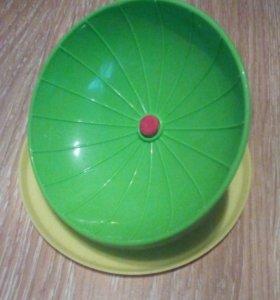 Беговое колесо для хомяка.(habitrail)