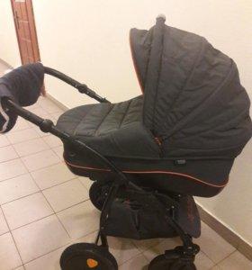 Детская коляска Tutis Zippy Sport Серый/Оранжевый