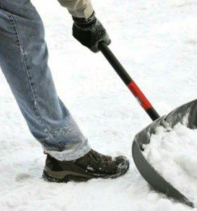 Уборка снега. Разнорабочие