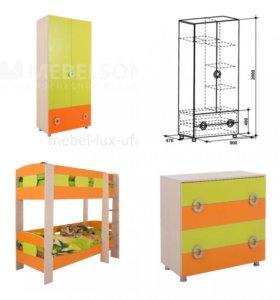 Новый комплект детской мебели