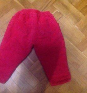 Вельветовые штанишки, 92 р