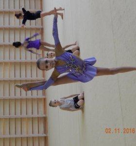платье для художественной гимнастики 128-134р
