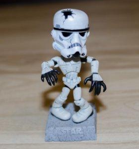 Фигурка-головотряс Штурмовик зомби Звездные Войны
