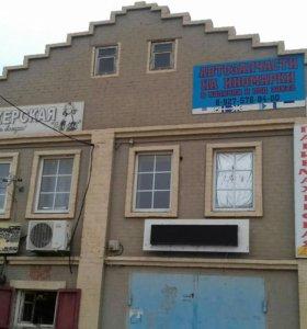 Действующий магазин, парикмахерская,пивмаг