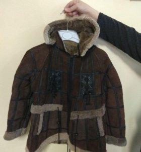 дубленка-куртка натуральная