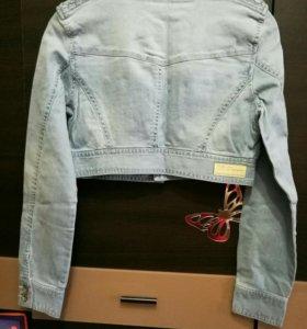 Новый джинсовый жакет