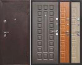 Недорогая металлическая дверь