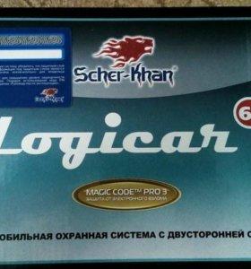 Сигнализация Scher-Khan Logicar 6i S.