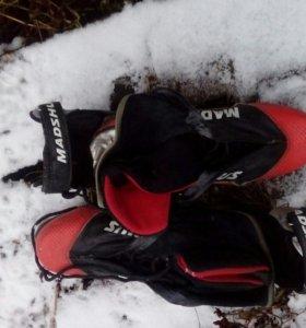 Лыжные ботинки 39-40 размер