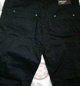Брюки или джинсы чёрные