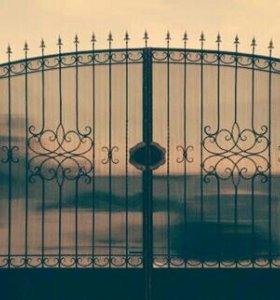 Ворота. Ковка.