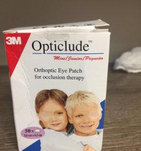 Наклейки для глаз, детские