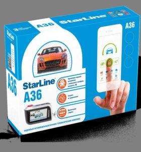 Сигнализация StarLine A36 CAN с а/з
