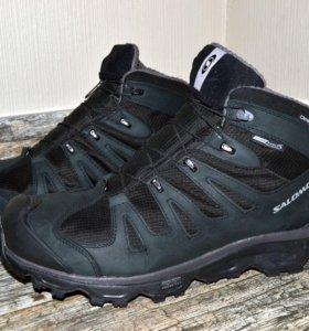 Ботинки - кроссовки Salomon white wolf LTR CS