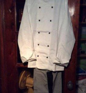 Классическая поварская униформа (новая)