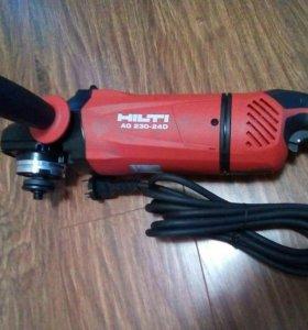 Углошлифовальная машина HILTI AG 230-24D. Новая
