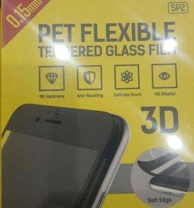 Защитное 3 D стекло iphone 6, 6S