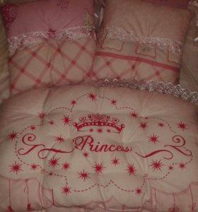 Бортики-подушки